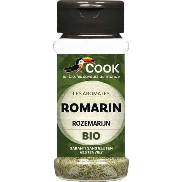 Cook - Herbier de France Romarin feuilles bio - Flacon25g