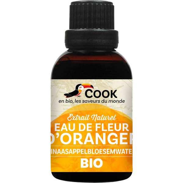 Cook - Herbier de France Eau de fleur d'oranger bio - Lot de 3 flacons de 50ml