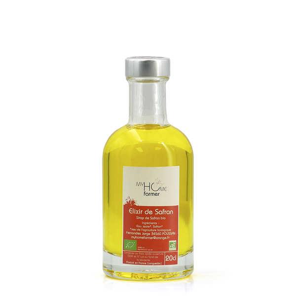 My home farmer Elixir de safran du Languedoc (sirop de safran) - Bouteille 20cl