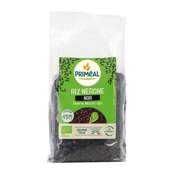 Priméal Riz noir Nérone bio d'Italie - Sachet 500g