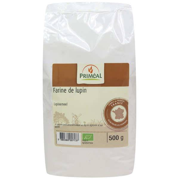 Priméal Farine de lupin bio - Sachet 500g