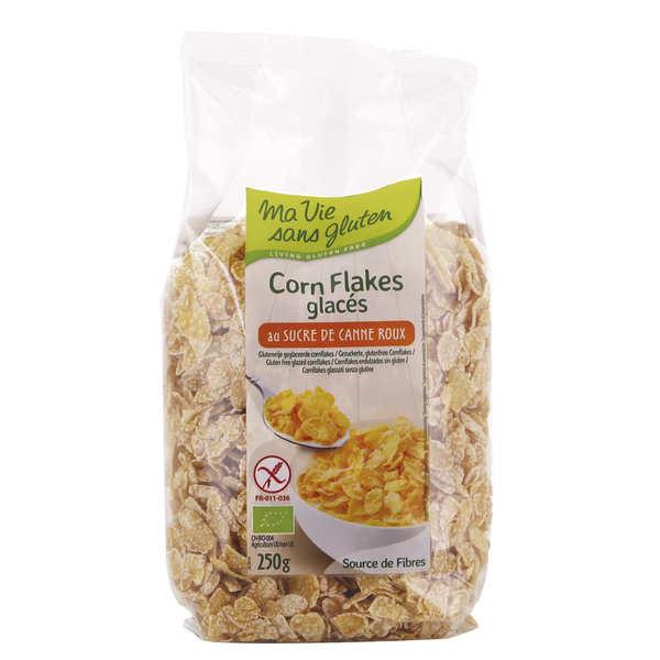 Ma vie sans gluten Corn flakes glacés bio - sans gluten - Sachet 250g