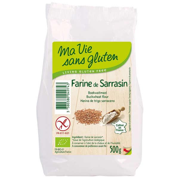 Ma vie sans gluten Farine de sarrasin bio - sans gluten - Sachet 500g