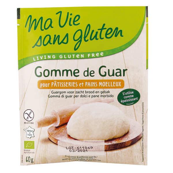 Ma vie sans gluten Gomme de guar bio - sans gluten - Lot de 3 sachets de 60g