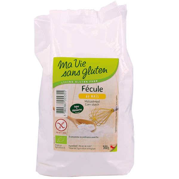Ma vie sans gluten Fécule de maïs bio - sans gluten - Sachet 500g