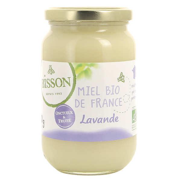 Bisson Miel de lavande bio des Alpes de Haute Provence - Pot 500g