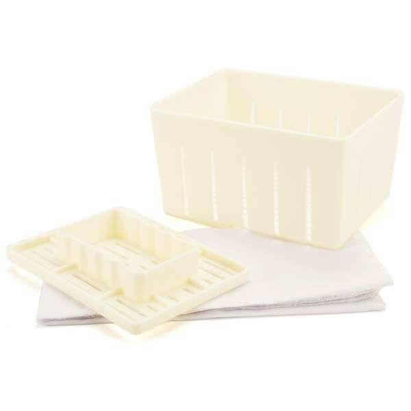 BienManger.com Kit de fabrication de Tofu maison - Kit Tofu