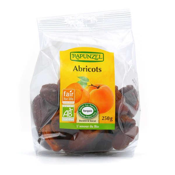 Rapunzel Abricots secs entiers bio - Lot 3 sachets de 250g