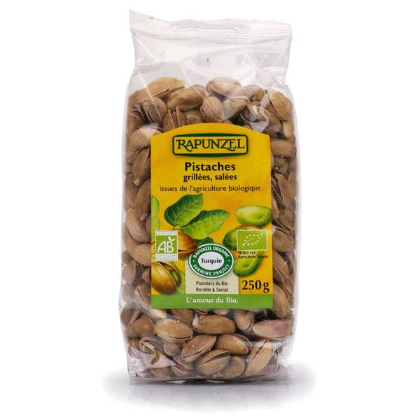 Ibo Produits Bio Pistaches coques grillées salées bio - Sachet 250g