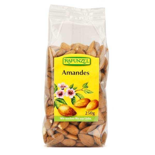 Rapunzel Amandes décortiquées bio - Lot 3 sachets de 250g
