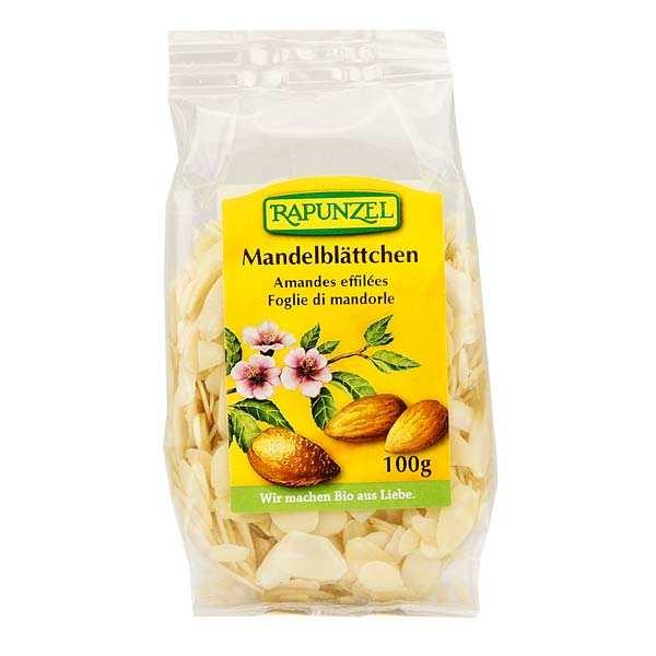 Rapunzel Amandes effilées bio - Lot 3 sachets de 100g