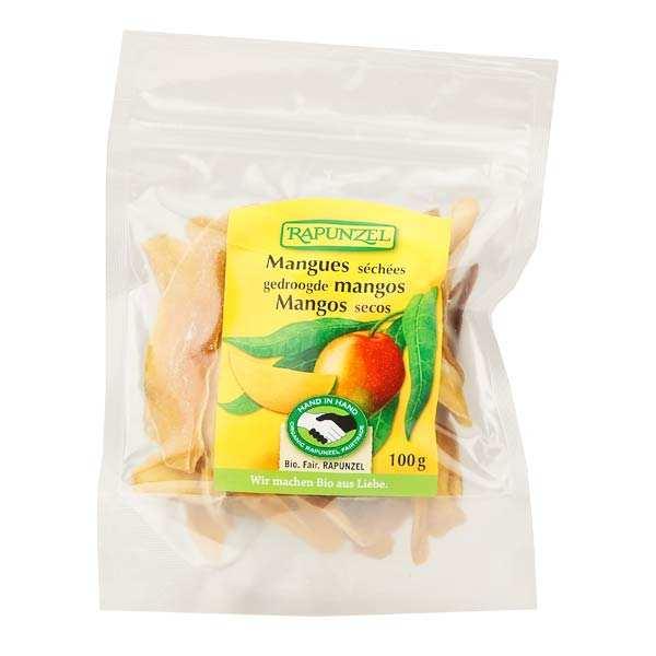 Rapunzel Mangues séchées en lamelles bio - Lot 3 sachets de 100g