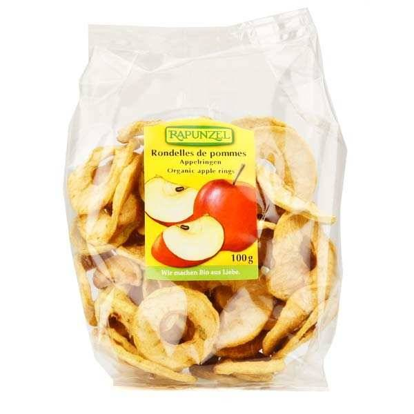 Rapunzel Rondelles de pommes séchées bio - Lot 6 sachets de 100g
