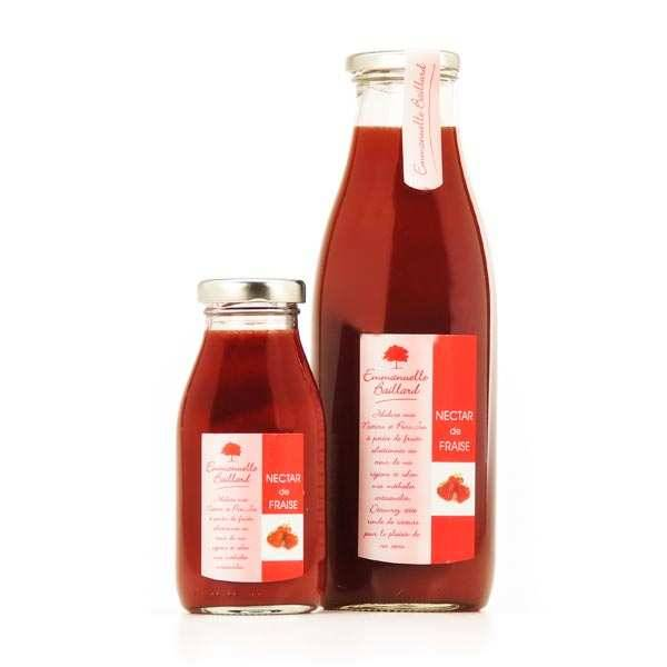Emmanuelle Baillard Nectar de fraise - Bouteille 25cl