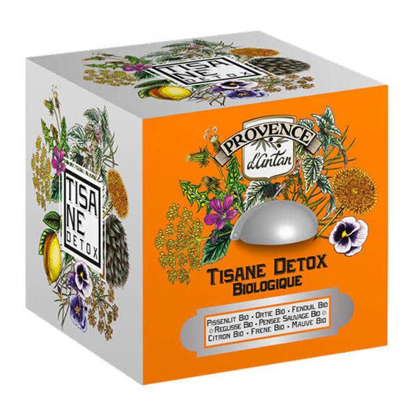 Provence d'Antan Tisane detox bio - Boite métal 30 sachets mousseline