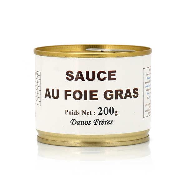 Danos Frères Sauce au foie gras - Lot de 5 pots 200g
