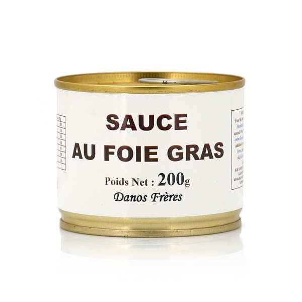 Danos Frères Sauce au foie gras - Pot 200g