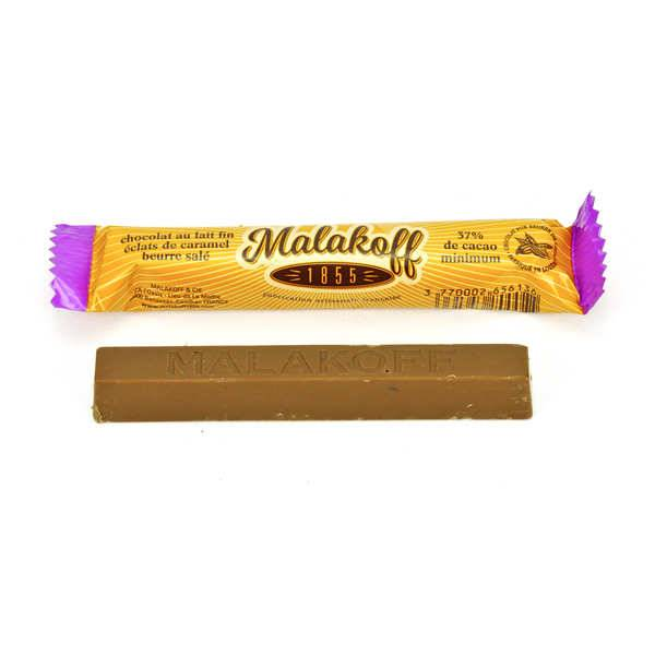 Malakoff & Cie Barre chocolat Malakoff 1855 lait et caramel au beurre salé - Barre 20g