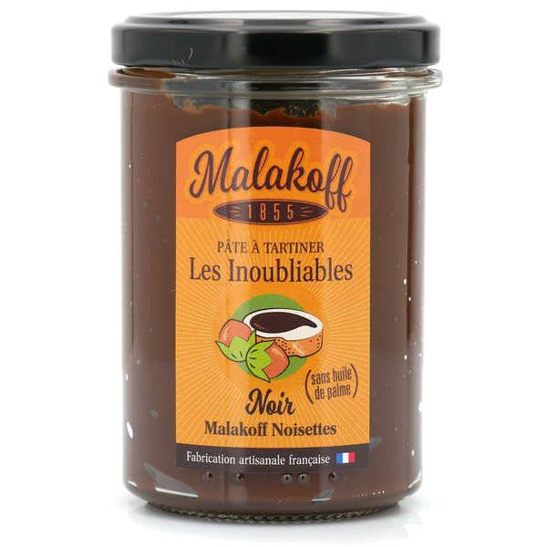 Malakoff & Cie Pâte à tartiner chocolat noir et noisette - Malakoff 1855 - Pot 240g