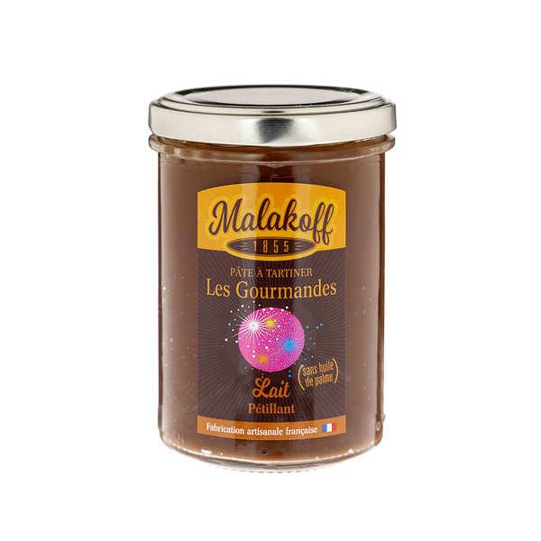 Malakoff & Cie Pâte à tartiner chocolat au lait pétillante - Malakoff 1855 - Pot 240g