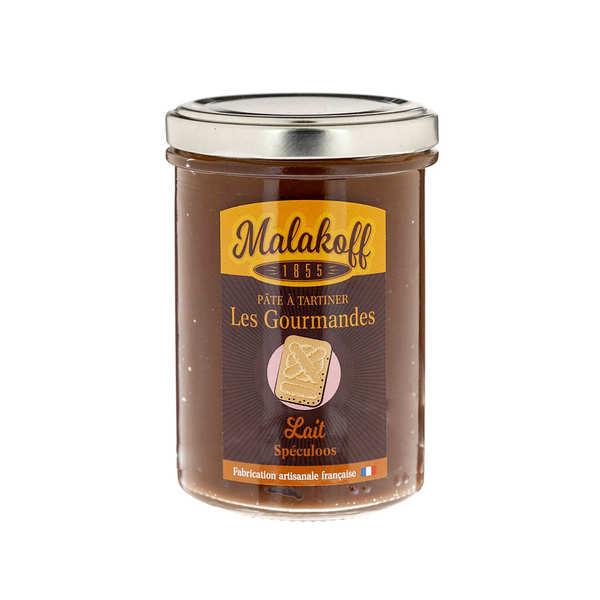 Malakoff & Cie Pâte à tartiner chocolat au lait et speculoos - Malakoff 1855 - Pot 240g