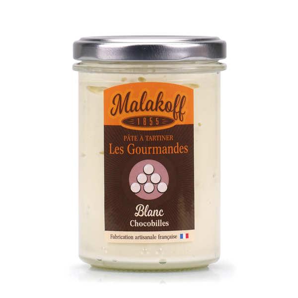 Malakoff Company Pâte à tartiner chocolat blanc chocobille - Malakoff - Pot 220g