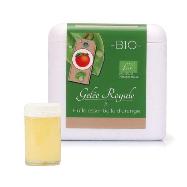 Gabriel Perronneau Gelée royale aromatisée orange bio - Verrine 25g