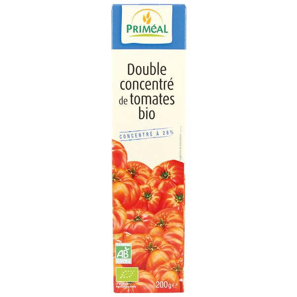 Priméal Double concentré de tomates bio - 6 étuis de 200g