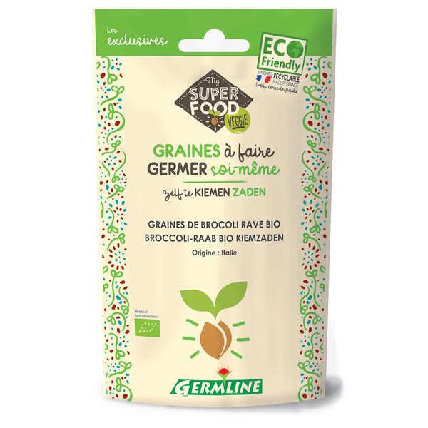 Germline Brocoli bio - Graines à germer - Lot 6 sachets de 150g