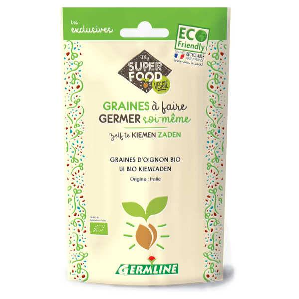 Germline Oignon bio - Graines à germer - Sachet 50g