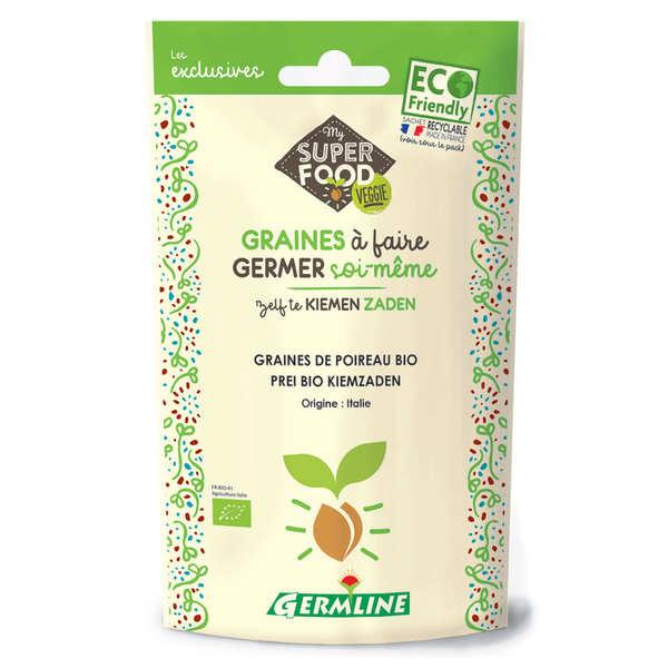 Germline Poireau bio - Graines à germer - Sachet 50g
