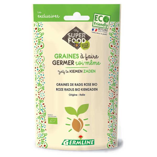 Germline Radis rose bio - Graines à germer - Sachet 100g
