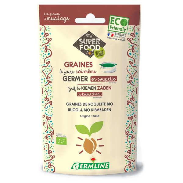 Germline Roquette bio - Graines à germer - Sachet 100g