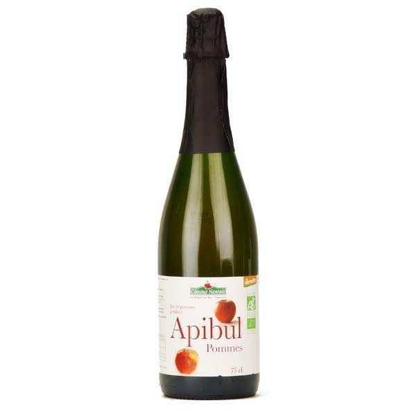 Coteaux Nantais Jus de pommes pétillant Apibul bio - Lot 3 bouteilles 75cl