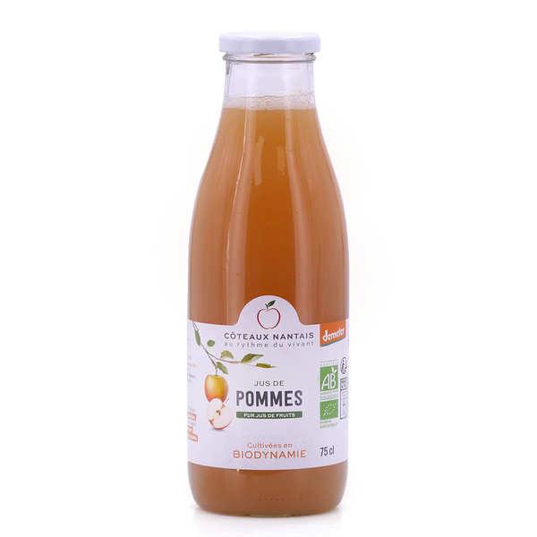 Coteaux Nantais Jus de pomme 100% pur jus bio - Lot 3 bouteilles 75cl