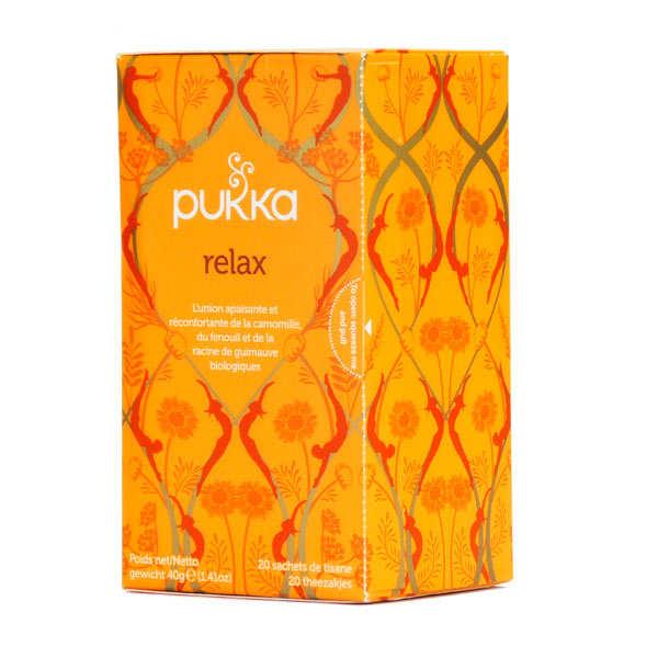 Pukka herbs Infusion bio relax - Pukka - Boite 20 sachets