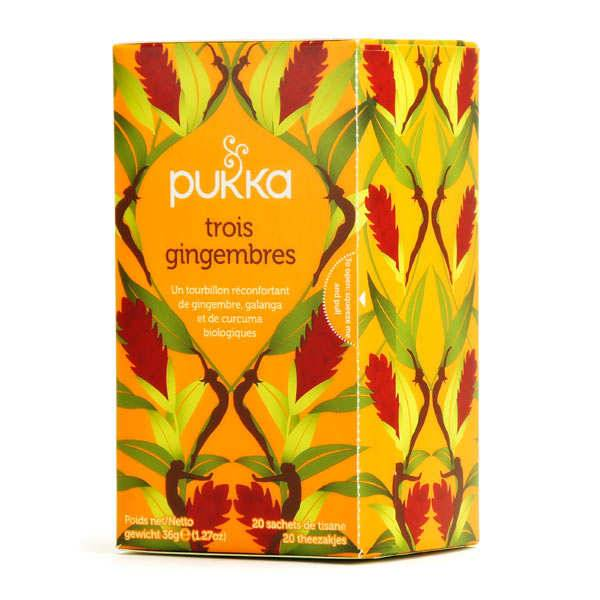 Pukka herbs Infusion bio 3 gingembres - Pukka - Boite 20 sachets