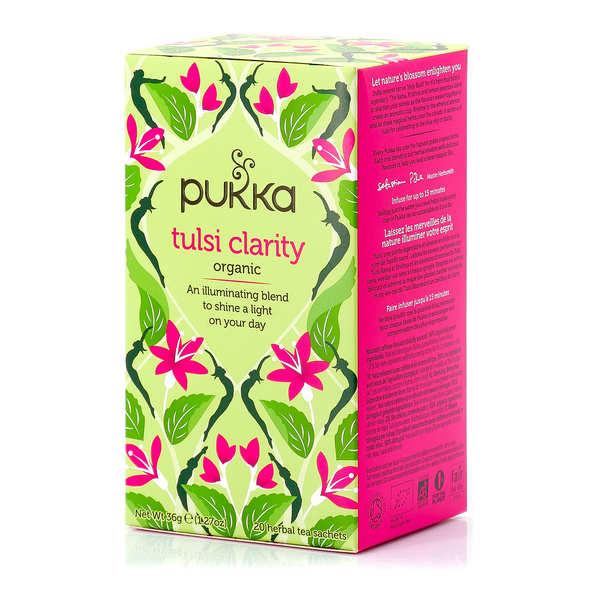 Pukka herbs Infusion bio Pukka Tulsi Clarté d'Esprit - Boite 20 sachets