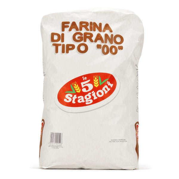 Le 5 Stagioni Farine à pizza pro type 00 Manitoba W410 - 400kg (16 sacs de 25kg)