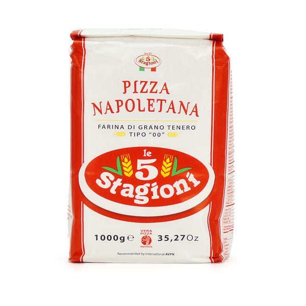 Le 5 Stagioni Farine à pizza napolitaine type 00 W300 - Sachet 1kg