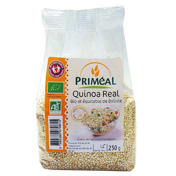 Priméal Quinoa bio équitable - 3 étuis carton 500g