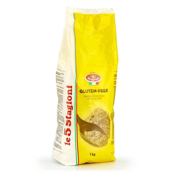 Le 5 Stagioni Préparation pour pizza sans gluten - 6 sachets de 1kg