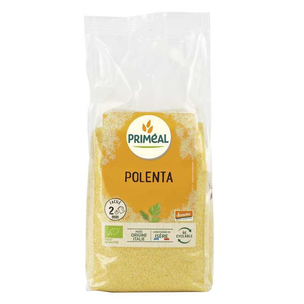 Priméal Semoule de maïs précuite bio spéciale polenta - Sachet 500 g