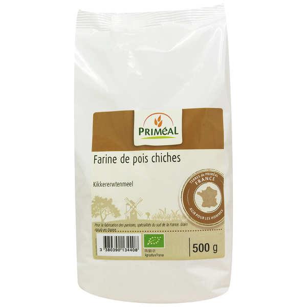 Priméal Farine de pois chiches bio - 6 sachets de 500g