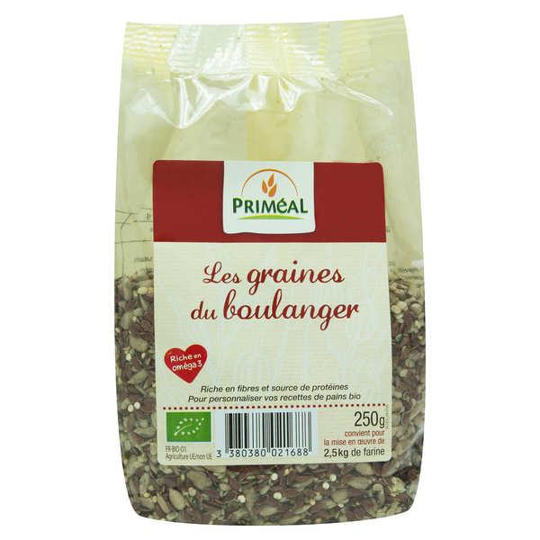 Priméal Les graines du boulanger bio - Mélange Oméga 3 - Sachet 250g