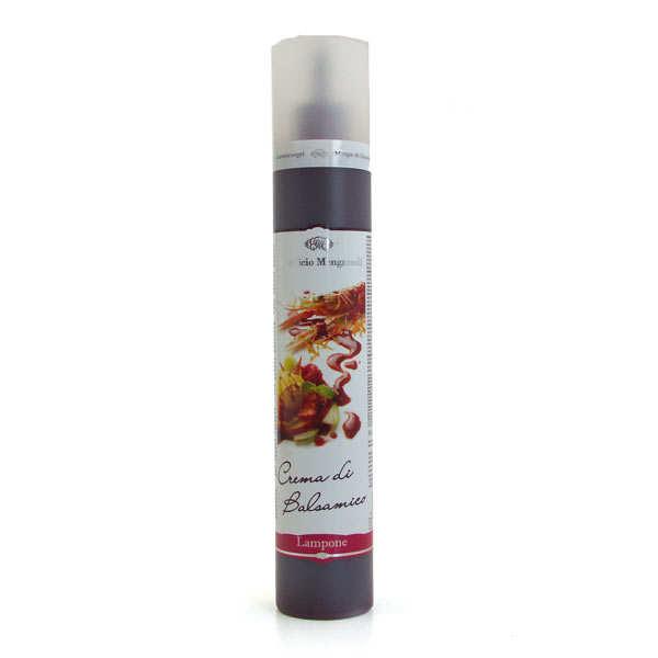 Acetificio Mengazzoli SNC Crème de jus de framboise vinaigré - Réduction Mengazzoli - Bouteille 320 g