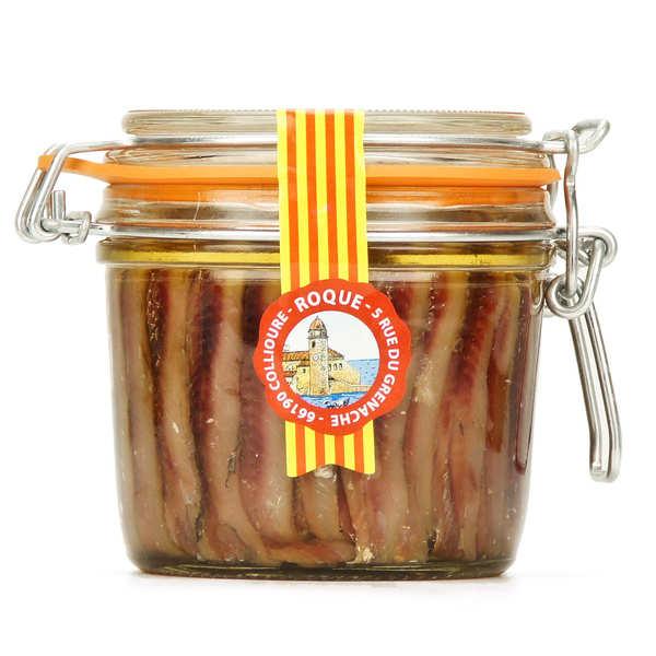 Roque Filets d'anchois à l'huile - Pot 150g