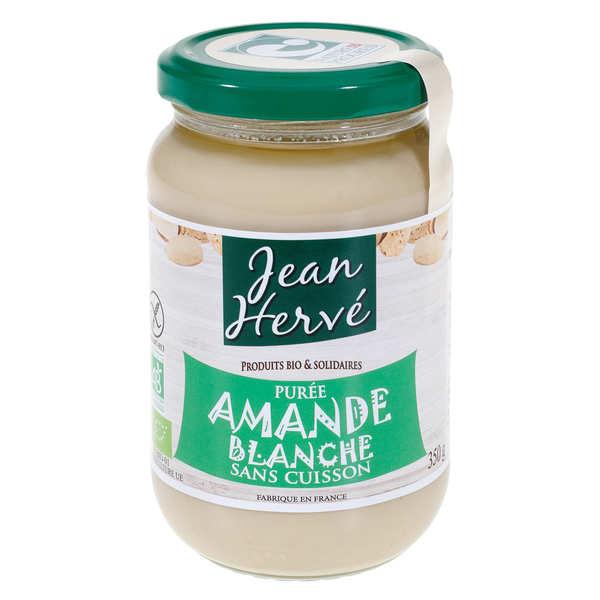 Jean Hervé Purée d'amandes blanches sans cuisson bio - Pot 350g