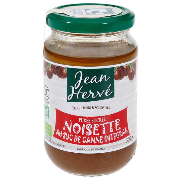 Jean Hervé Purée de noisettes au suc de canne bio - Pot 360g