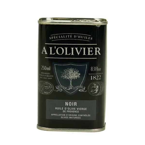A L'Olivier Huile d'olive vierge fruité noir de Provence AOC - Bidon 250ml